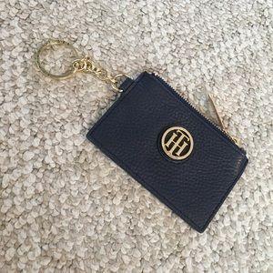NWOT Tommy Hilfiger Leather Keychain Wallet